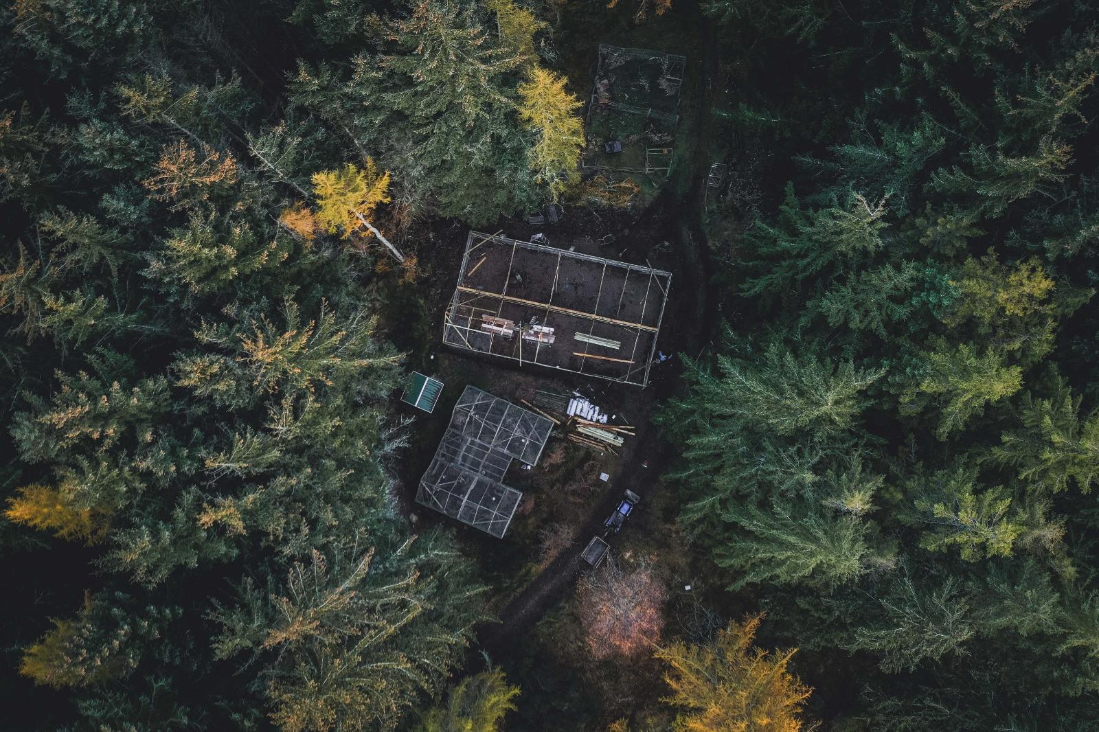 Aigas Drone Shot © Pete Short
