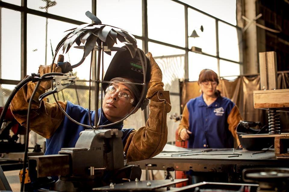 Crucible Women Metalworkign