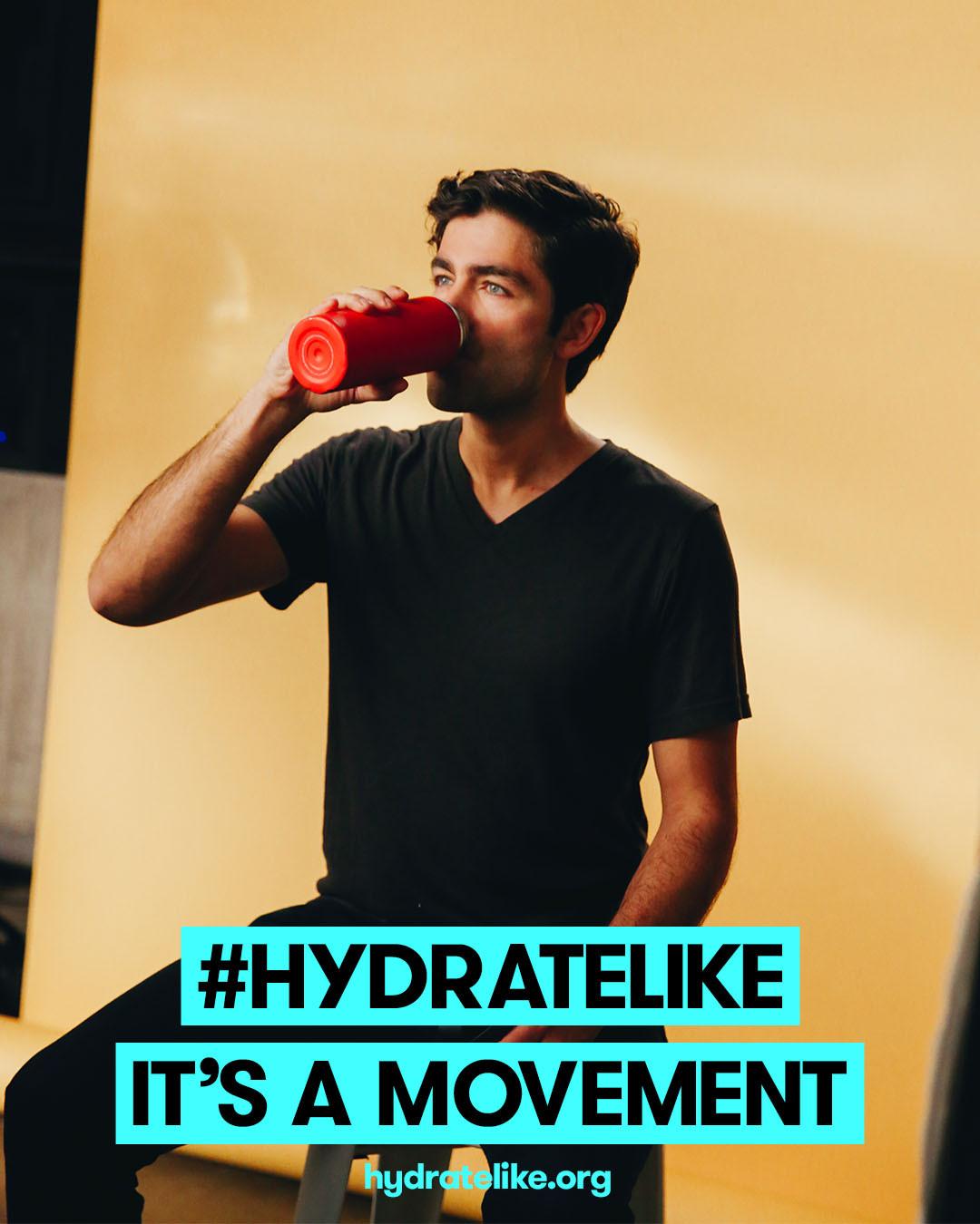 Hydrate Like Adrian Grenier