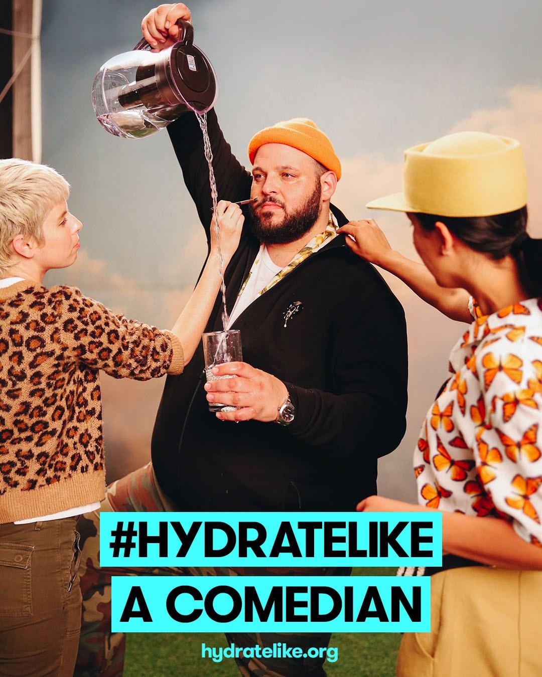 Hydrate Like Daniel Franzese