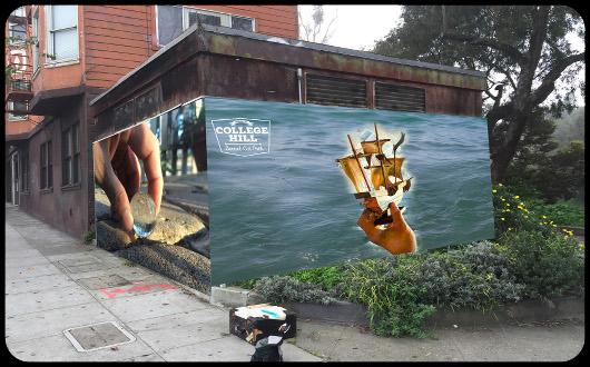 Iam College Hill Mural 530X330