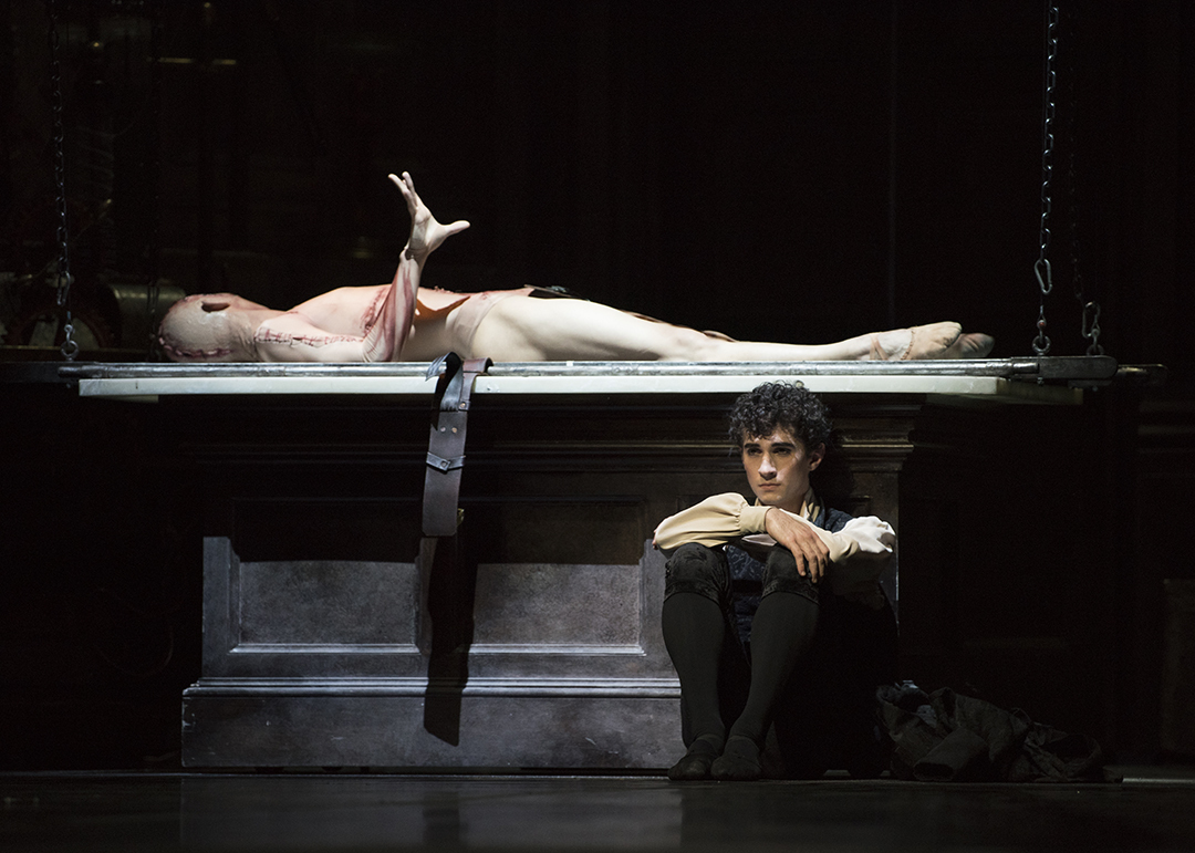 Sf Ballet Max Cauthorn And Wei Wang In Scarletts Frankenstein