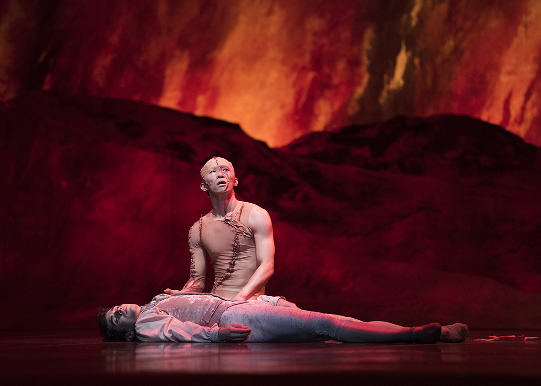 Sf Ballet Wei Wang And Max Cauthorn In Scarletts Frankenstein