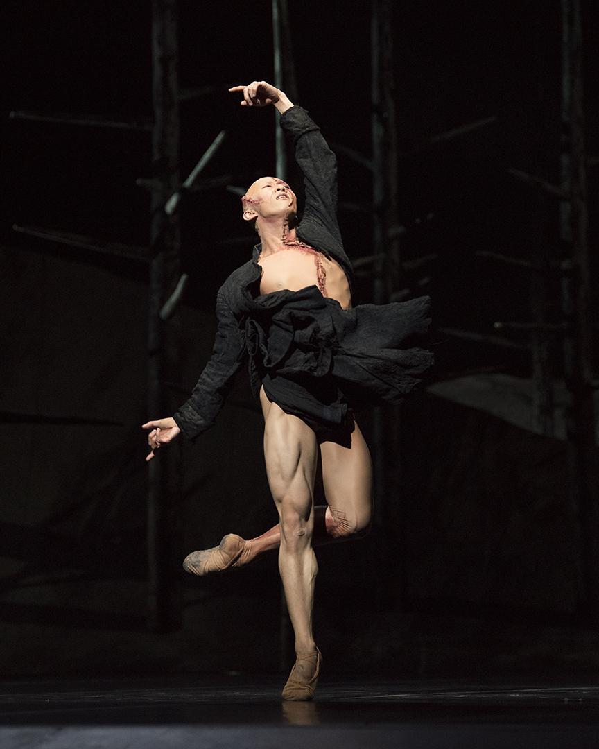 Sf Ballet Wei Wang In Scarletts Frankenstein