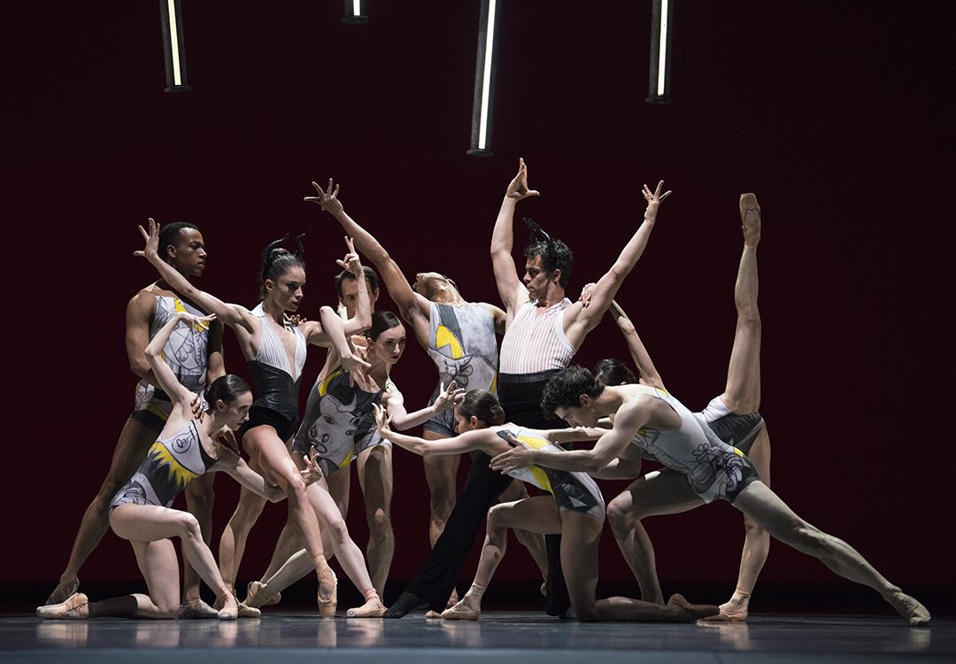 Sf Ballet In Lopez Ochoas Guernica