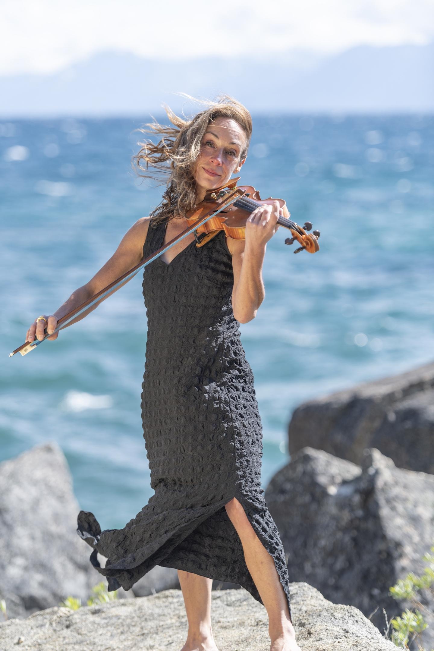 Violinonthe Beach Classical Tahoe